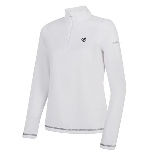 Women's Lowline Core Stretch Half Zip Midlayer - White